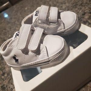 Toddler Polo Ralph Lauren sneakers sz 1C